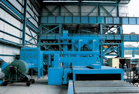 大型钢板 型材预处理线